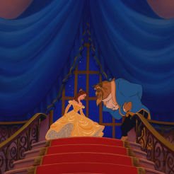 La_Belle_et_la_Bête_(Disney)_Histoire_Éternelle_escalier_révérence